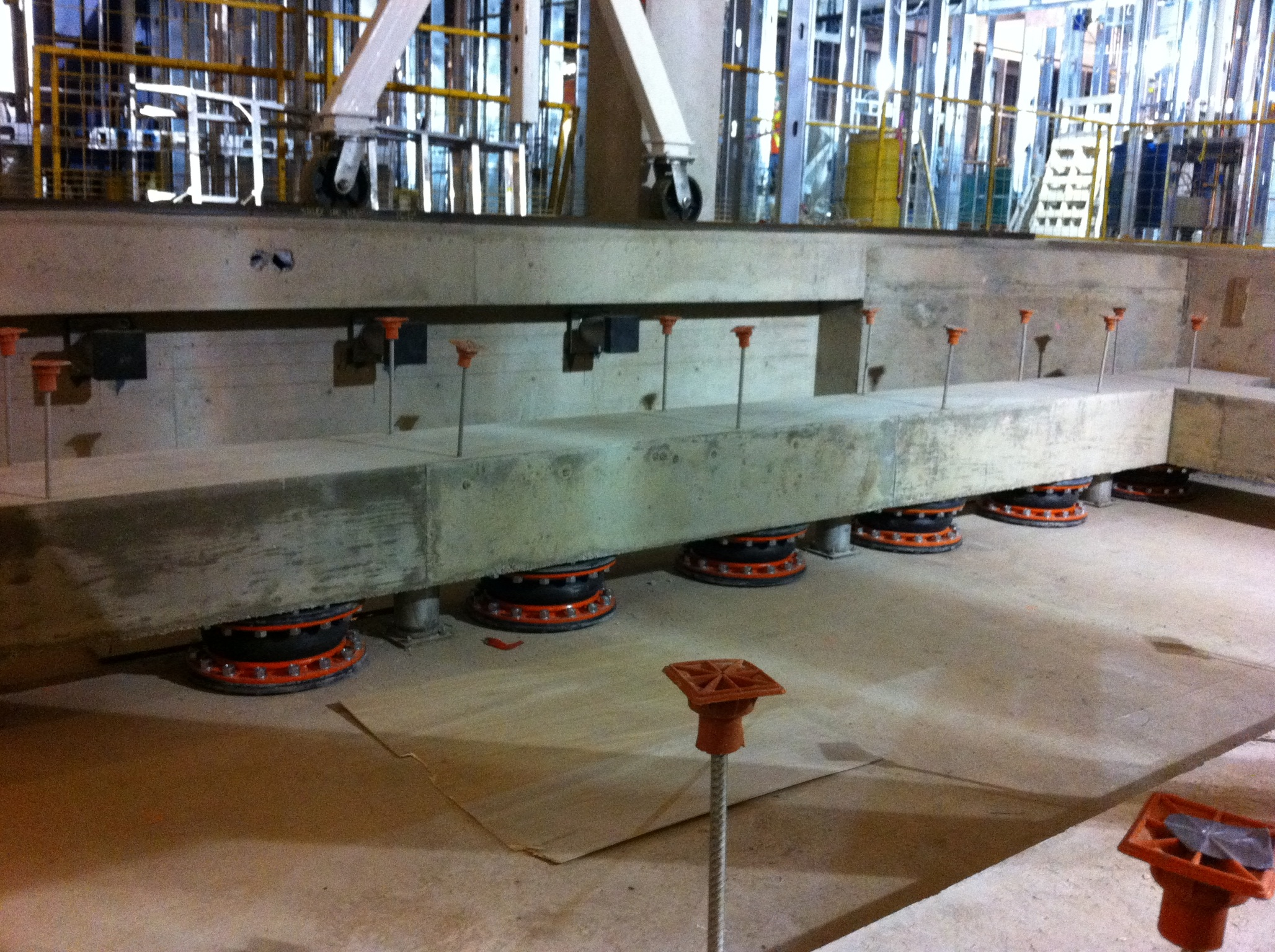 Floating Floors - Mason Industries